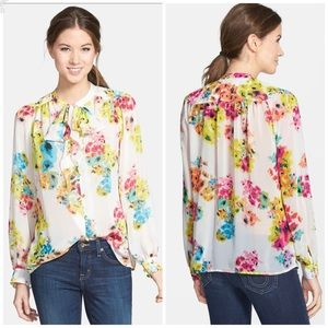 KUT from the Kloth | Spencer Floral Top Medium